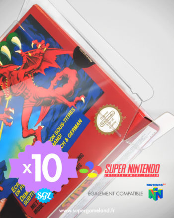 protection souple snes x10